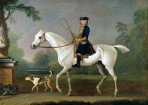 Sir Roger Burgoyne Riding 'Badger' by James Seymour