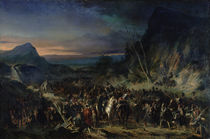 The Ravine, Campaign of 1809 by Nicolas Toussaint Charlet