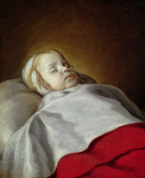 Portrait of a Dead Child, c.1650 by French School
