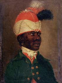 Portrait of Zamor by French School