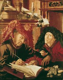 Two Tax Gatherers, c.1540 by Marinus van Reymerswaele