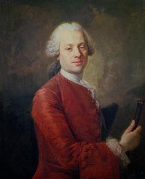 Portrait of Jean le Rond d'Alembert by Louis M. Tocque