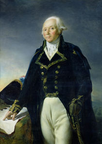 Portrait of Francois-Christophe Kellermann c.1835 by Georges Rouget