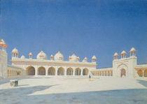 Moti Masjid, Agra, 1874-76 by Vasili Vasilievich Vereshchagin