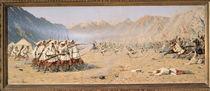 Surprise Attack, 1871 by Vasili Vasilievich Vereshchagin