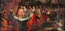 Belshazzar's Feast by Flemish School