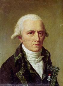Portrait of Jean-Baptiste de Monet Chevalier de Lamarck by Charles Thevenin