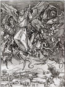 St. Michael and the Dragon by Albrecht Dürer