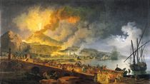 Eruption of Vesuvius in 1771 by Pierre Jacques Volaire