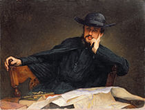 Portrait of a Priest by James Jacques Joseph Tissot