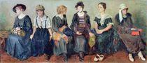 Group of Actors, 1913-24 von Nikolaj Alekseevich Kasatkin
