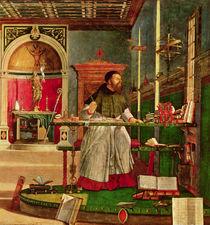 Vision of St. Augustine, 1502-08 von Vittore Carpaccio
