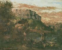 The Bridge at Nahin, 1868 von Gustave Courbet