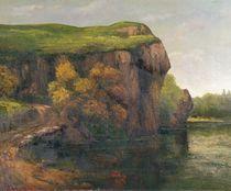 Rocky Cliffs von Gustave Courbet