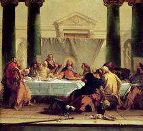 The Last Supper, 1745-50 by Giovanni Battista Tiepolo