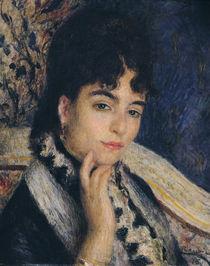 Portrait of Madame Alphonse Daudet 1876 von Pierre-Auguste Renoir