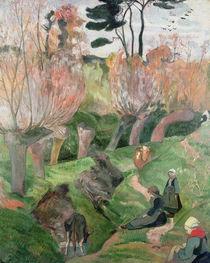 Breton Landscape, 1889 by Paul Gauguin