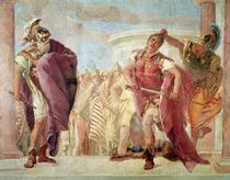 Minerva Preventing Achilles from Killing Agamemnon by Giovanni Battista Tiepolo