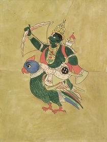 Kama, God of Love, 18th-19th century by Indian School