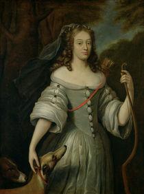 Portrait of Francoise Louise de la Baume le Blanc Duchesse de Vaujour by Claude Lefebvre