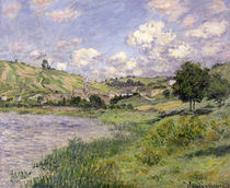 Landscape, Vetheuil, 1879 by Claude Monet