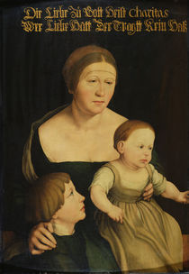 Charity or The Family of the Artist von Hans Holbein the Younger