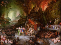 Aeneas and the Sibyl in the Underworld by Jan Brueghel the Elder