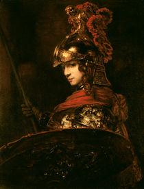 Pallas Athena or, Armoured Figure von Rembrandt Harmenszoon van Rijn