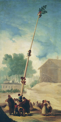 The Greasy Pole, 1787 by Francisco Jose de Goya y Lucientes