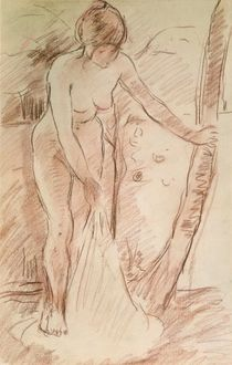 Standing Bather, 1888 von Berthe Morisot