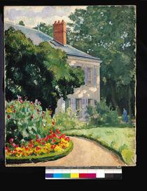 The Garden at Queue-en-Brie by Ernest Rouart