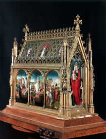 The Reliquary of St. Ursula by Hans Memling