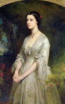 Portrait of Marie de Bonneval by Edouard Louis Dubufe