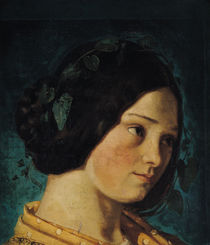 Portrait of Zelie Courbet, c.1842 von Gustave Courbet
