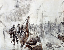 The Return of the Corsairs by Maurice Henri Orange
