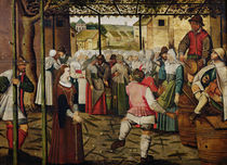 The Rustic Dance by French School