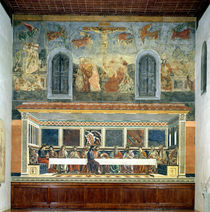 The Last Supper by Andrea del Castagno
