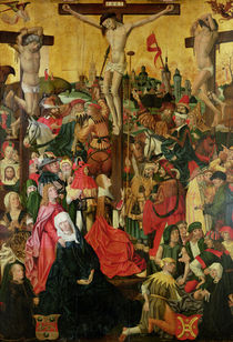 The Crucifixion, c.1500 by Master of Hamburg