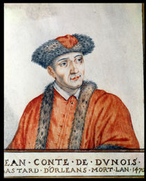 Jean d'Orleans Count of Dunois by Thierry Bellange