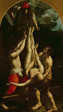 Crucifixion of St. Peter by Guido Reni