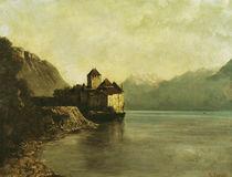 Chateau de Chillon, 1874 von Gustave Courbet