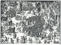The Guilbray Fair and the Cattle Market von French School