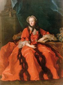 Portrait of Maria Leszczynska 1762 by Jean-Marc Nattier