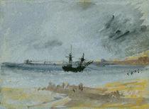 Ship Aground, Brighton, 1830 von Joseph Mallord William Turner