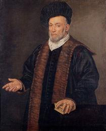 Portrait of a Doctor by Francesco Montemezzano