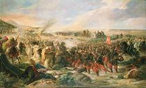 The Battle of Tetouan in 1860 by Vincente Gonzalez Palmaroli