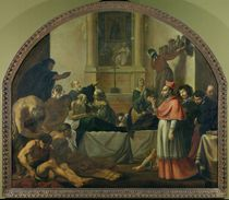 St. Charles Borromeo Visiting the Plague Victims in Milan in 1576 by Karel Skreta