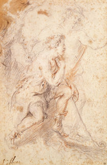 Mercury and a Shepherd by Peter Paul Rubens