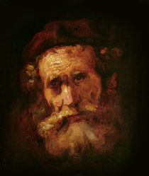 A Rabbi von Rembrandt Harmenszoon van Rijn
