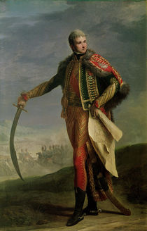 Portrait of Jean Lannes Duke of Montebello by Jean Charles Nicaise Perrin